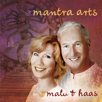 CD-Cover: 'Mantra Arts von Malu & Haas'